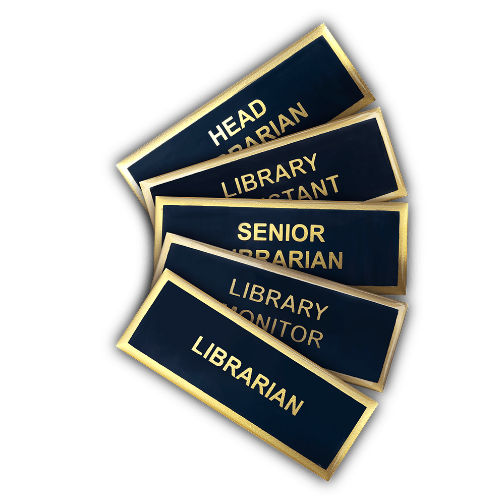 librarian badges