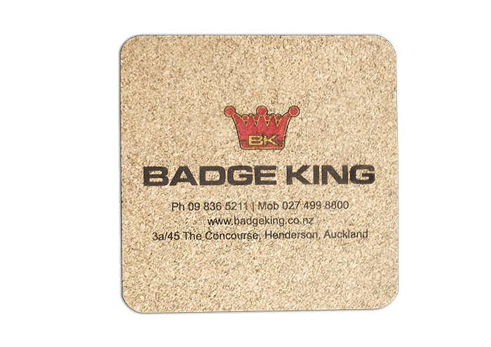 custom coaster badge king