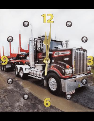 Clock Truck